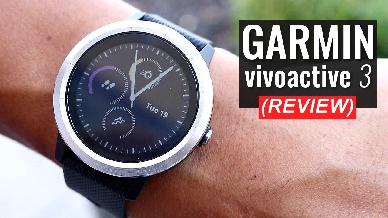 garmin v voactive 3 gps smartwatch review. Black Bedroom Furniture Sets. Home Design Ideas