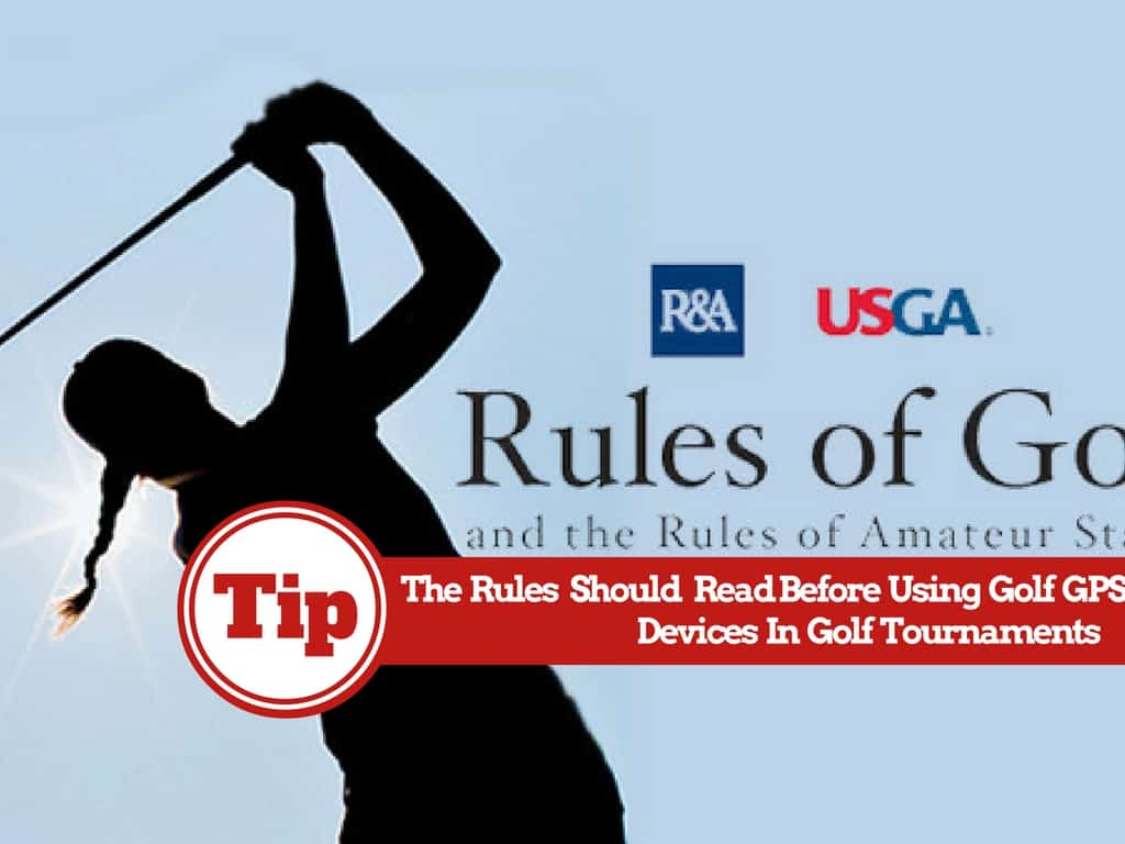 The Rules About Using Golf GPS Apps On Smartphones