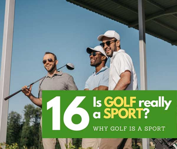 is golf really a sport
