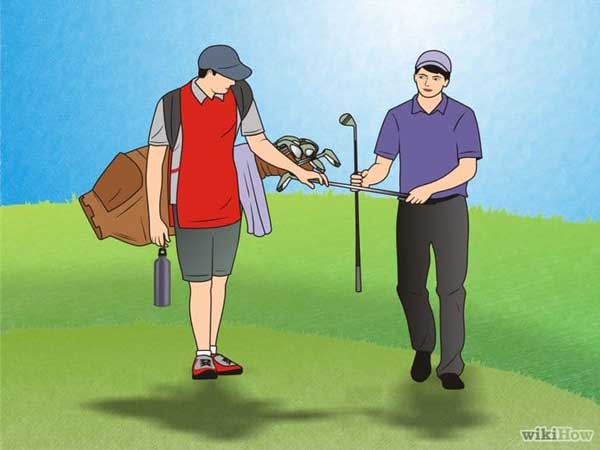 how to become a golf caddie