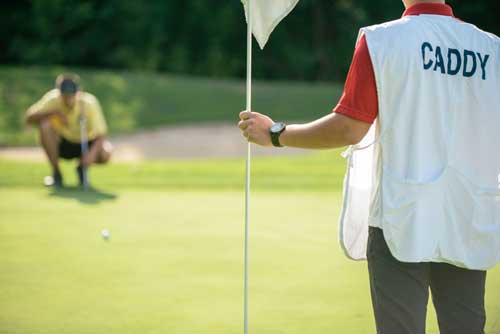 What do you need to become a Golf Caddy