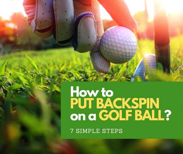 put backspin on a golf ball