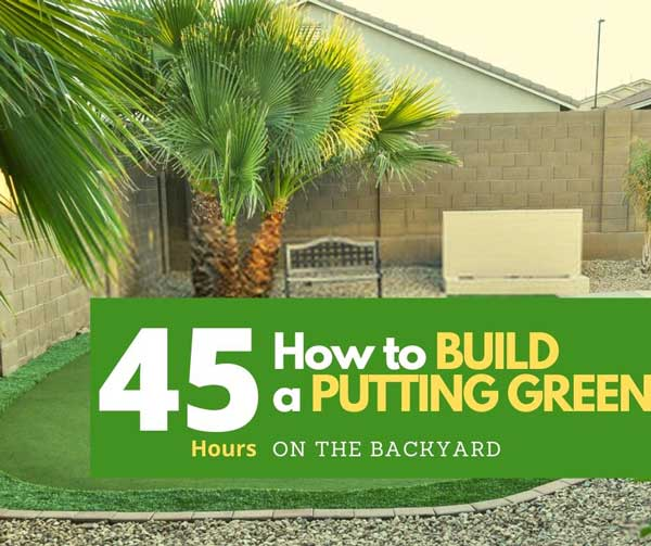 How To Build A Natural Putting Green