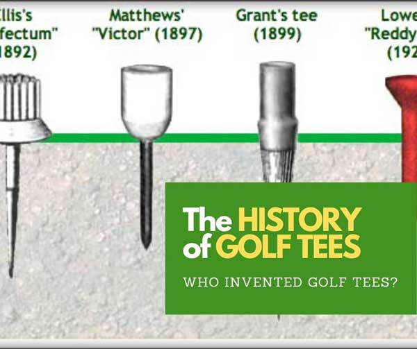 History of golf tees