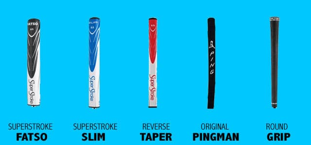 Types of Putter Grips