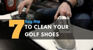 How to clean your golf shoes