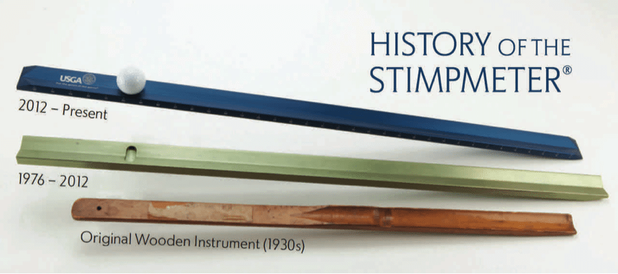 History of Stimpmeter