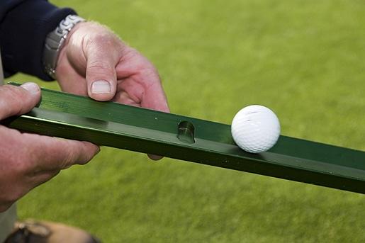 Stimpmeter in Golf Tournaments