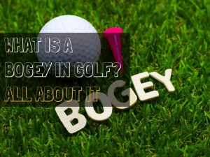 Bogey in golf