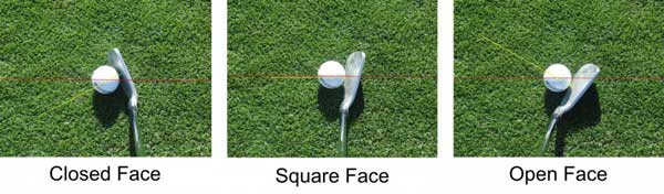 Open Clubface at Impact