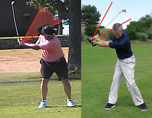 golf swing lag slow motion