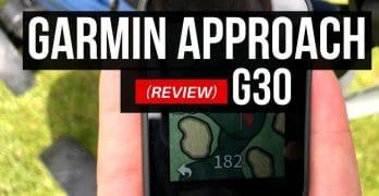 Garmin Approach G30 Golf Handheld GPS Reviews