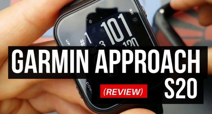 Garmin Approach S20 Golf GPS Watch Review