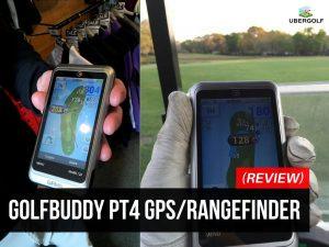 GolfBuddy PT4 Golf GPS Rangefinders